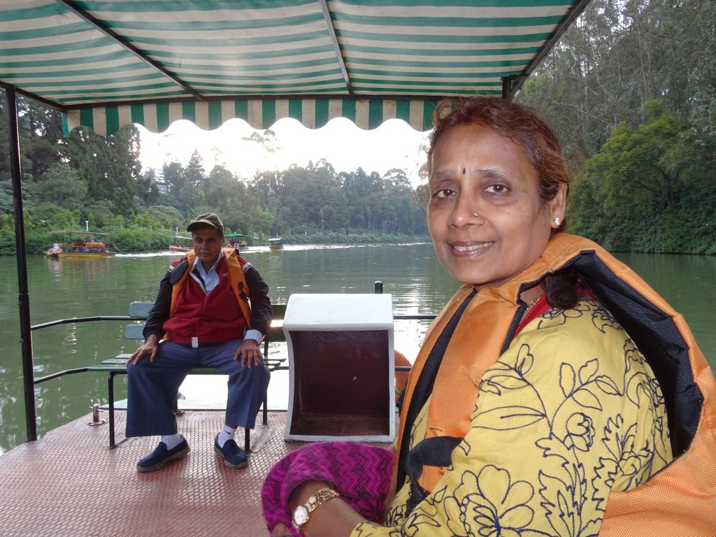 Boating on Ooty Lake