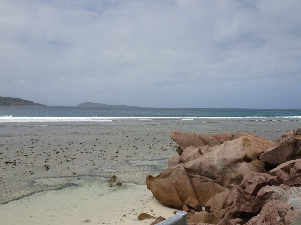 Beutiful beaches of La Digue
