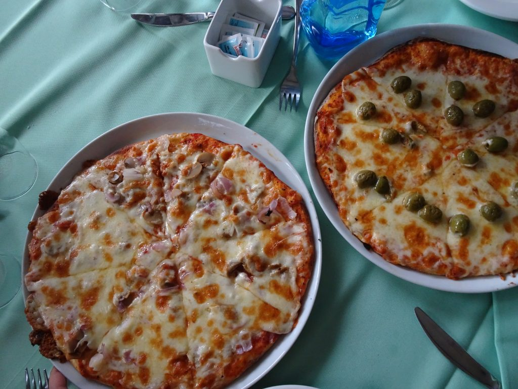 Pizza in Mahe