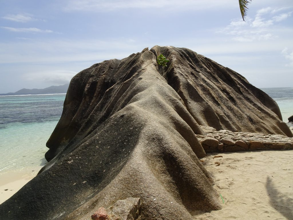 Rocks at Anse Source D' argent