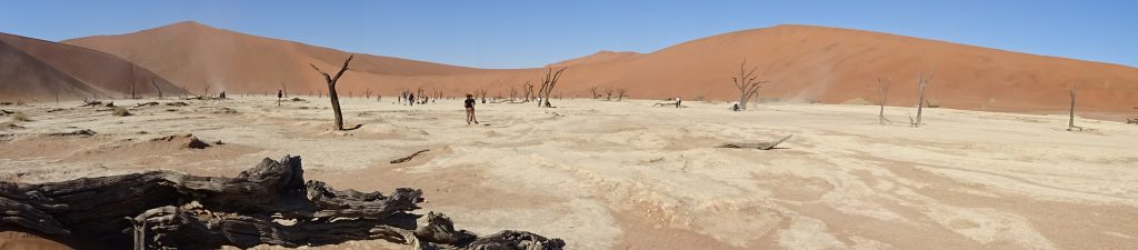 Panorama of Sossusvlei - 2 weeks in Namibia