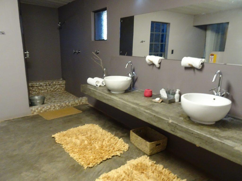 Bathroom at the Fish River Lodge