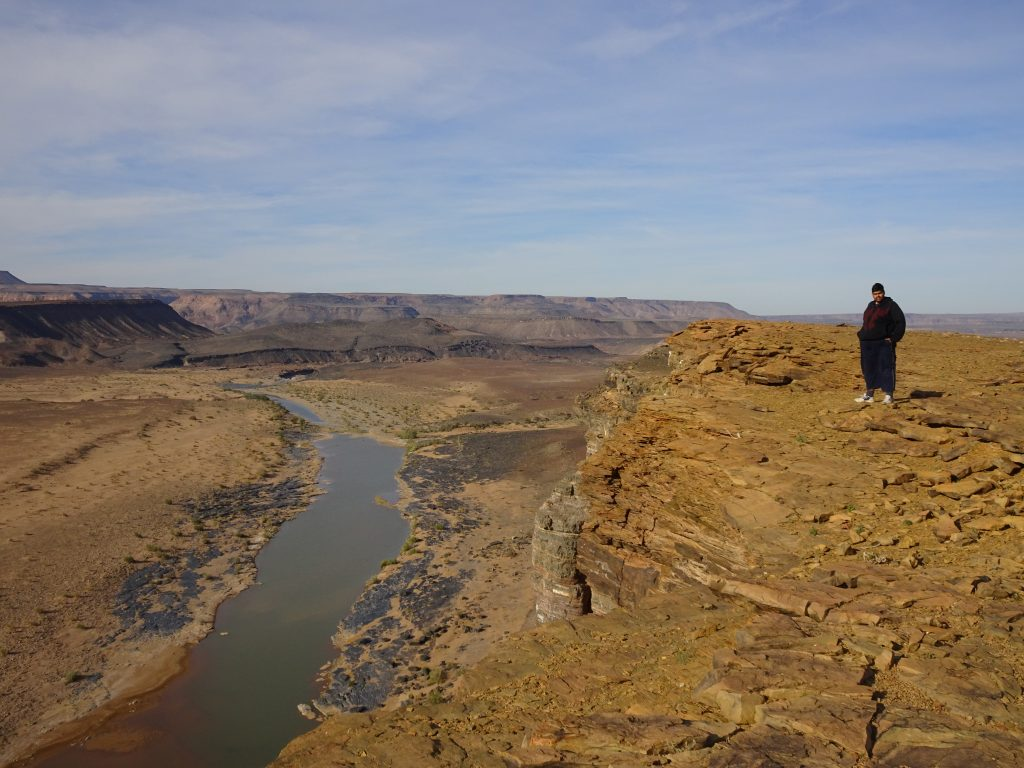 First View Point of Fish River Canyon