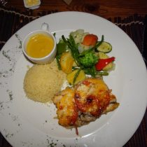 Fish River Lodge - Vegetarian Dinner - Vegetarian Food in Namibia