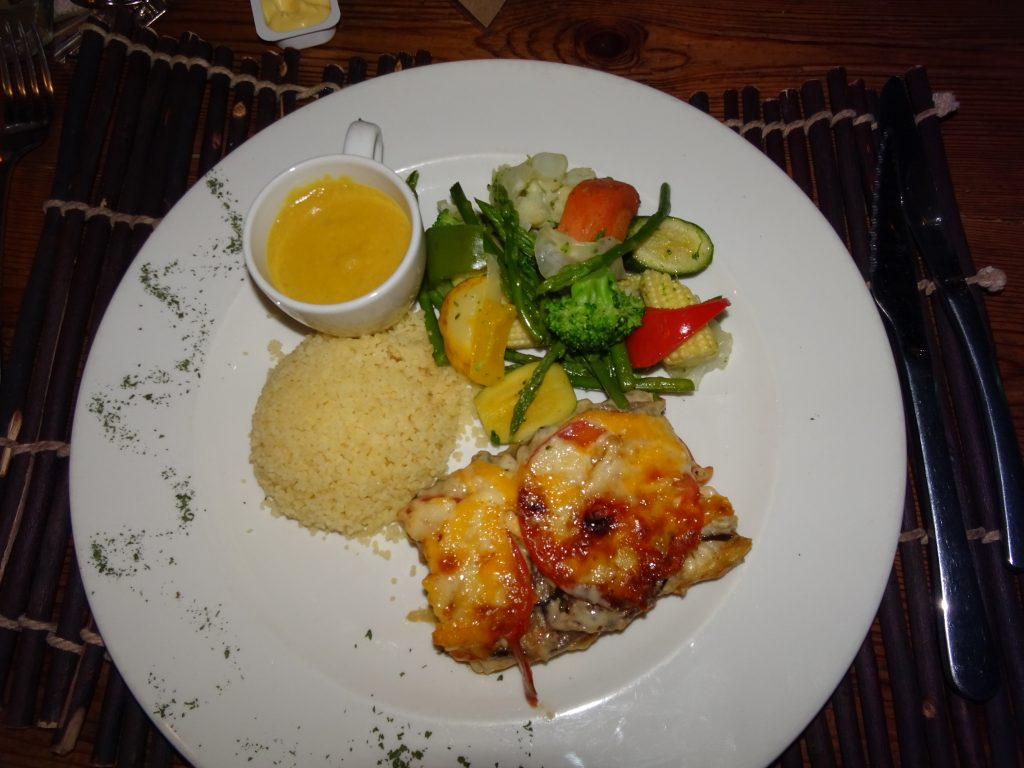 Fish River Lodge - Vegetarian Dinner