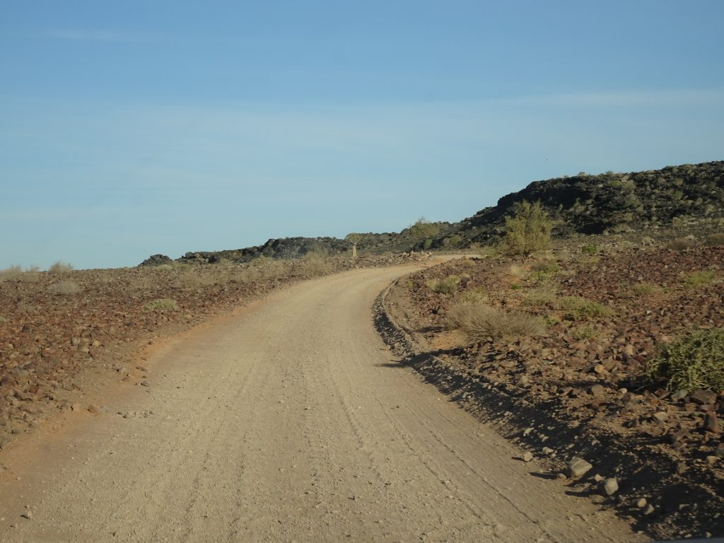 Gravel Roads of Namibia