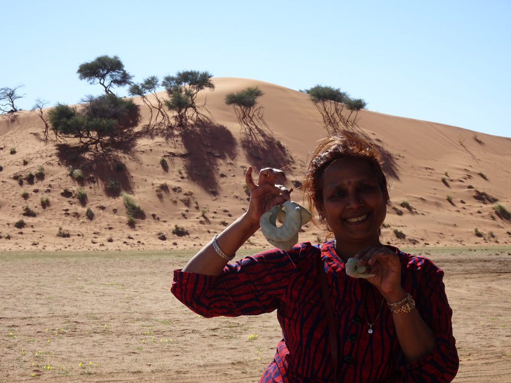 Imli at Elim dune
