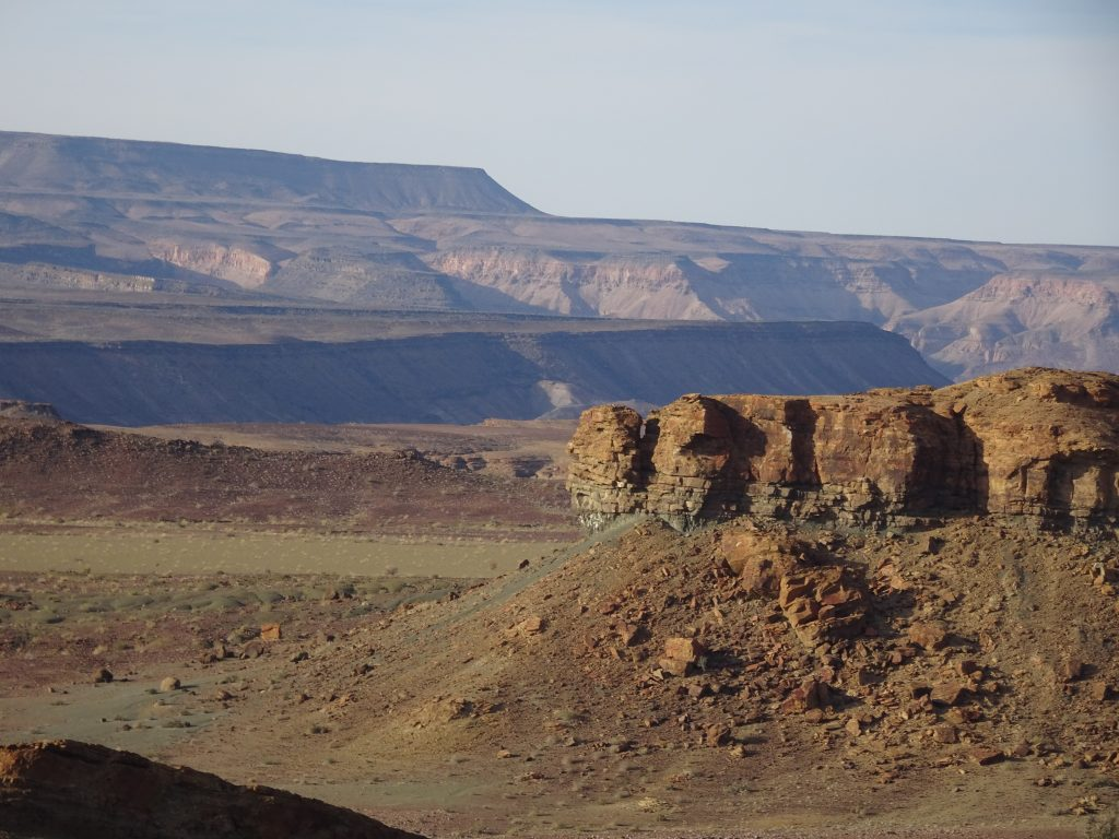 Landscape en-route to Fish River Canyon