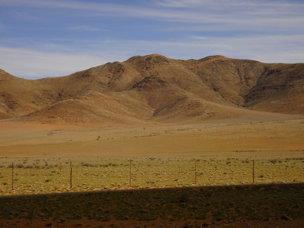 Landscape en-route to Sossusvlei Lodge
