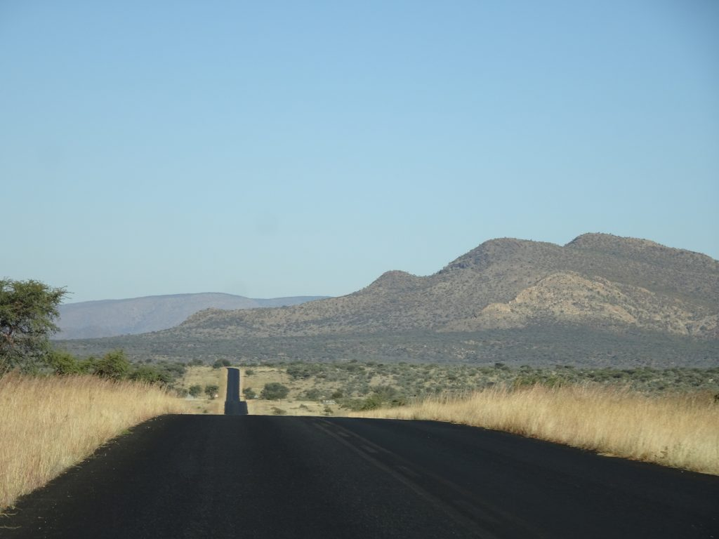 Roads in Namibia - 2 weeks in Namibia