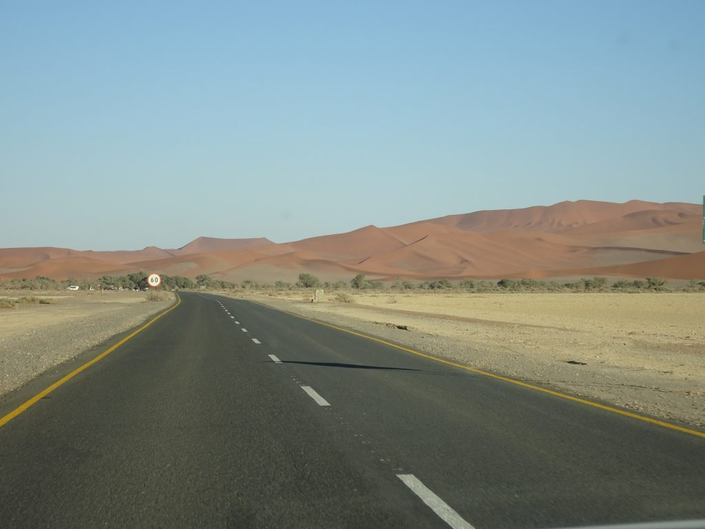 Roads of Sossusvlei