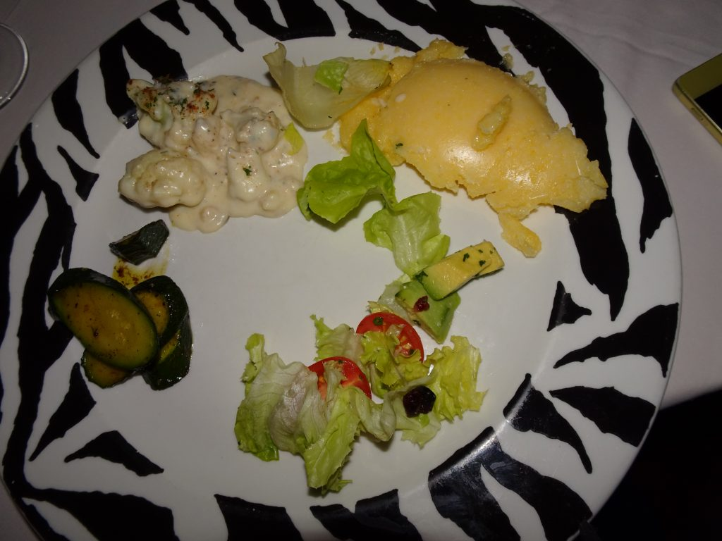 Veg Dinner at Bagatelle - Salads