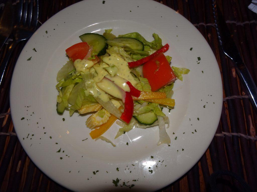 Veg Salad at Fish River Lodge