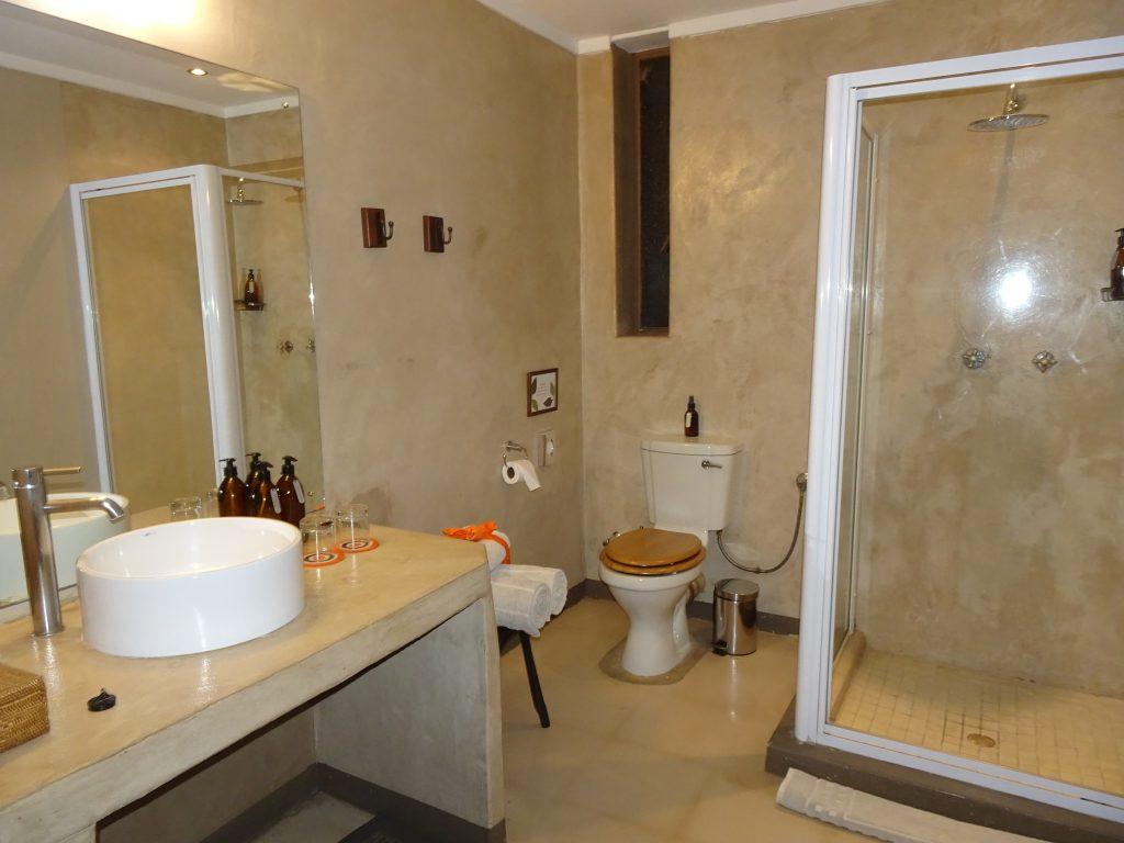 Bathroom at Onguma Bush Camp