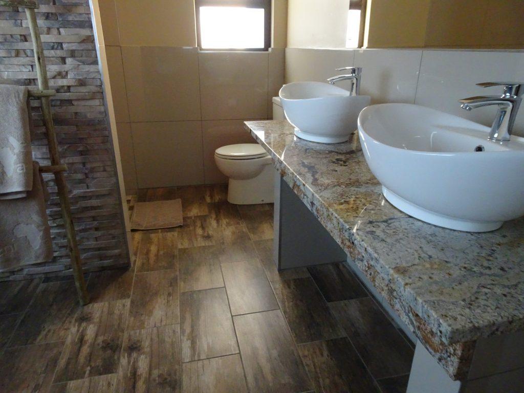 Bathroom at Sossusvlei Lodge
