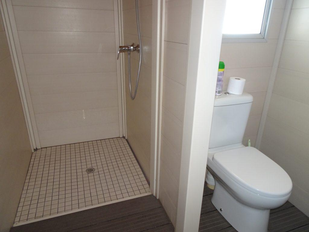 Bathroom at Spitzkoppen Lodge