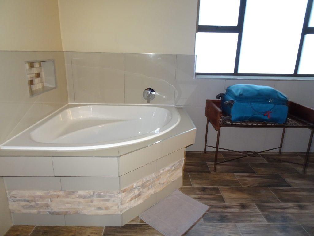Bathtub at Sossusvlei Lodge