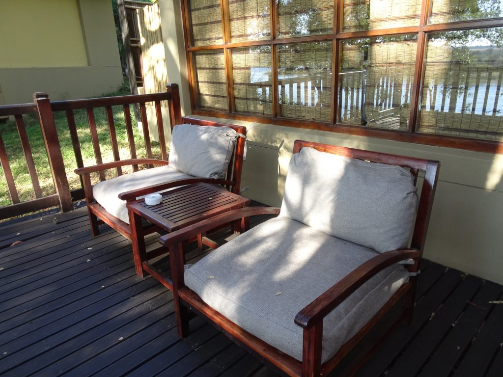Deck at Divava Okavango Lodge