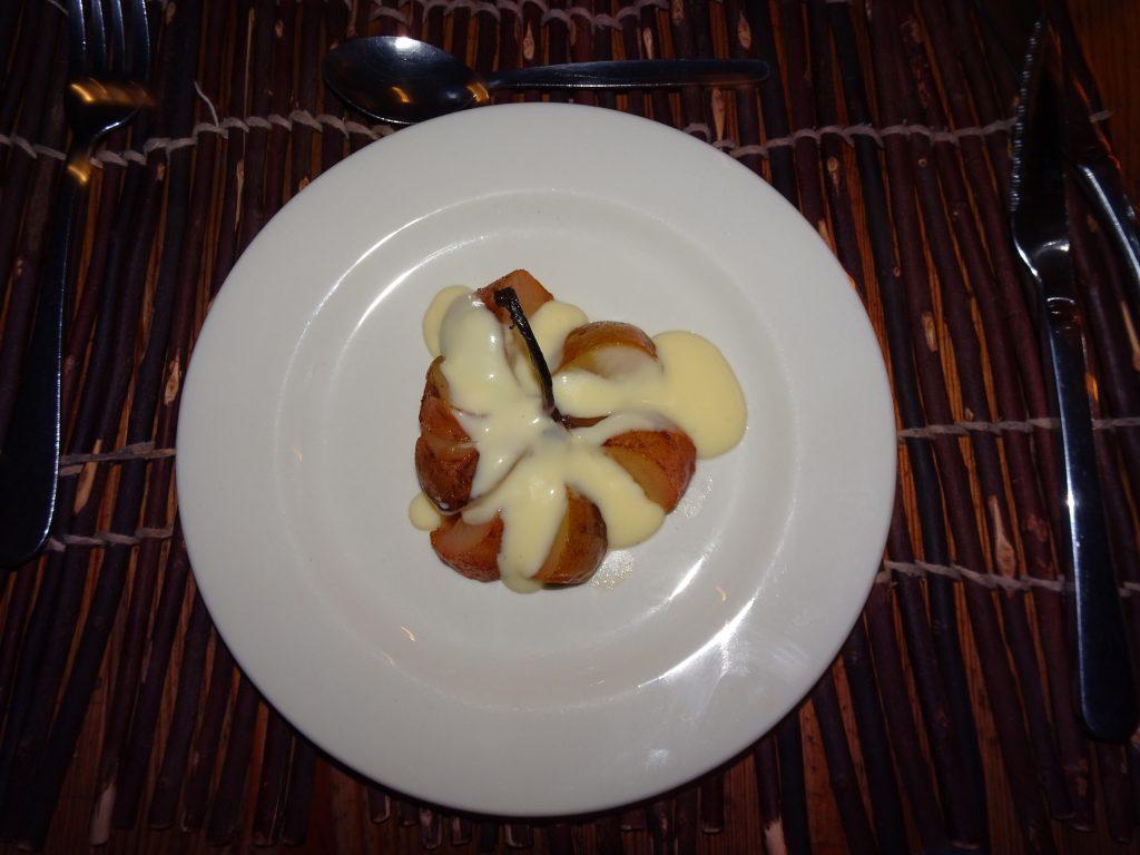 Dessert at Fish River Lodge