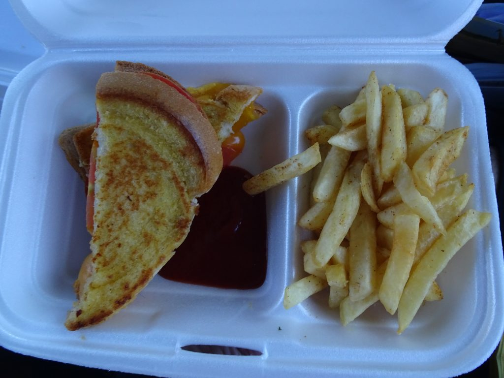 Dinner in Etosha - Vegetarian Food in Namibia