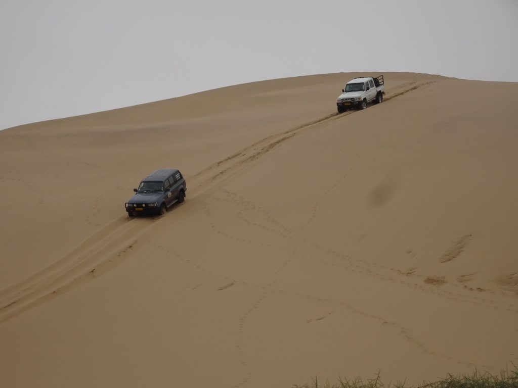 Dune Bashing in Namibia