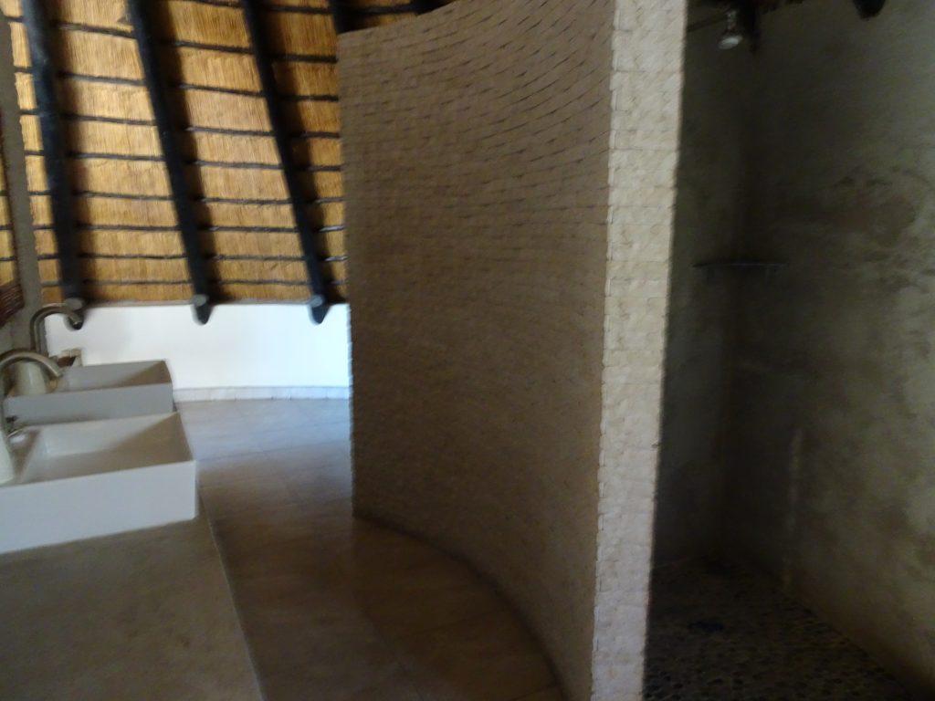First Floor Bathroom at Okaukuejo Rest Camp