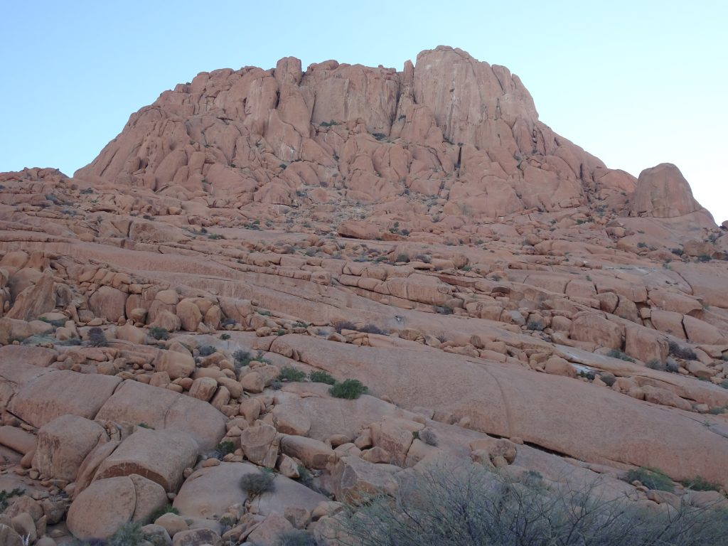 Large Granite Rocks in Spitzkoppe