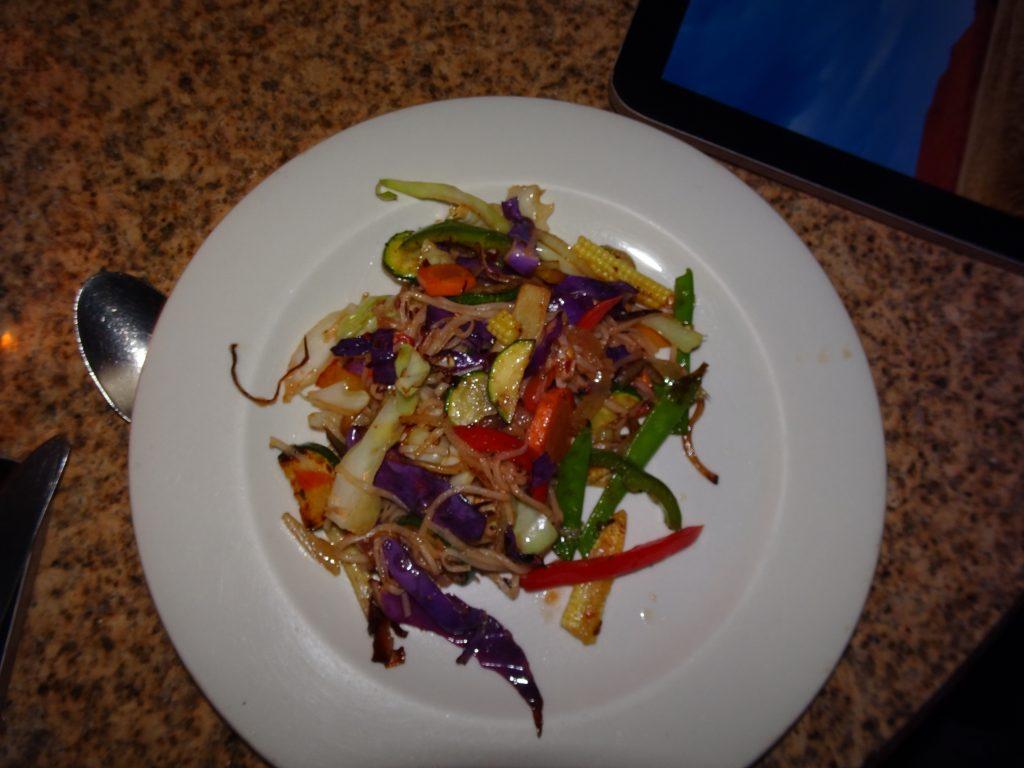 Live Stir-fry counter at Sossusvlei Lodge