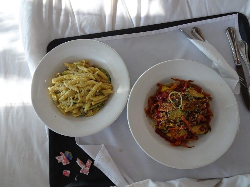 Lunch at Divava Okavango Lodge - Vegetarian Food in Namibia