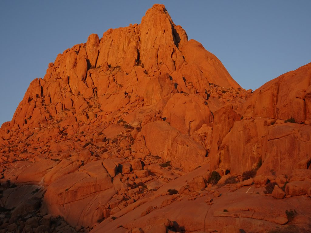Morning in Spitzkoppe