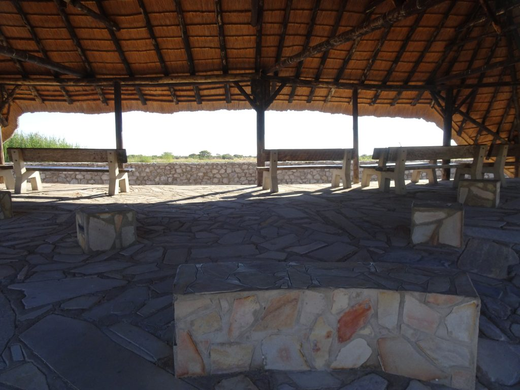 Namutoni Waterhole - 2 Weeks in Namibia