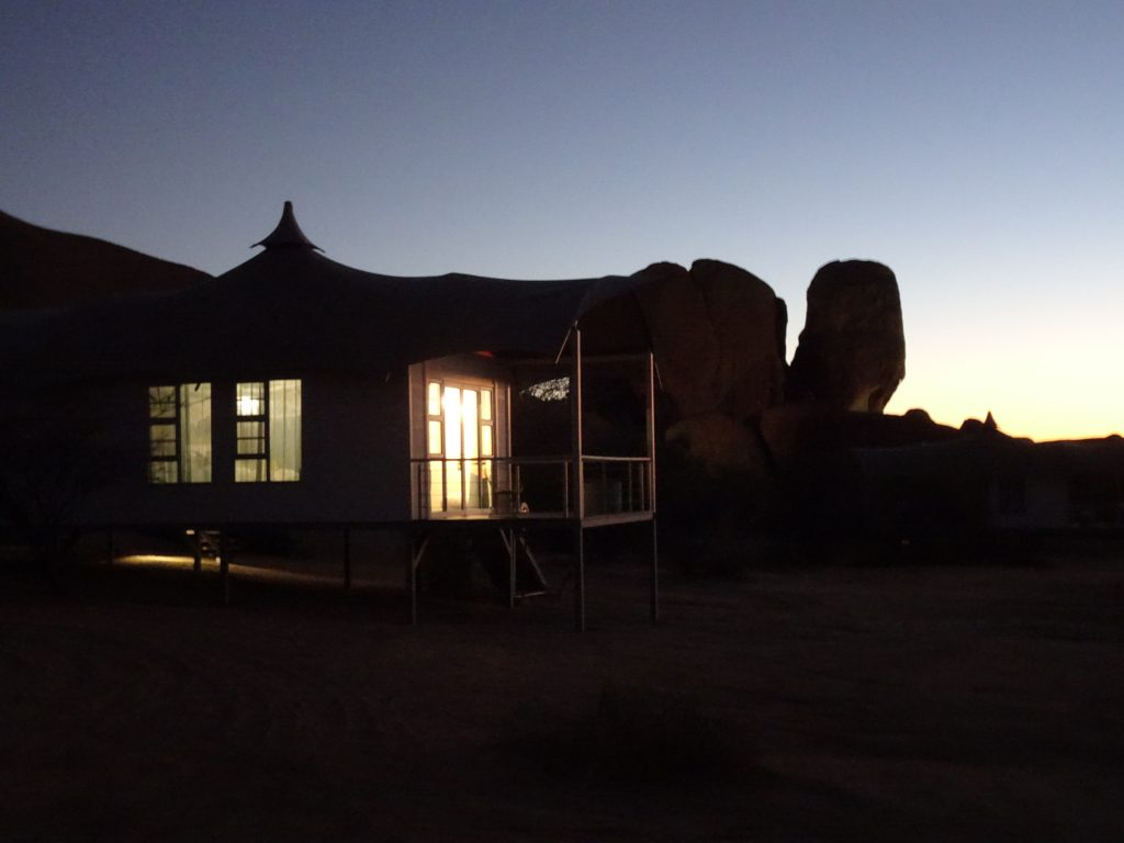 Night Scene in Spitzkoppe