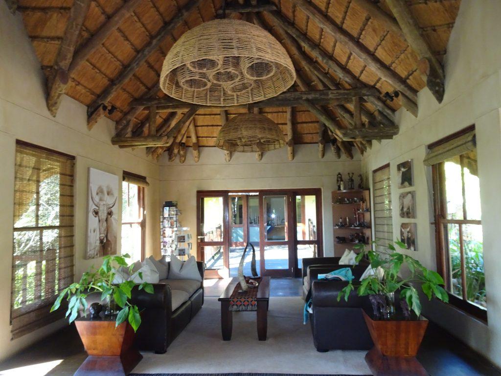 Reception at Divava Okavango Lodge