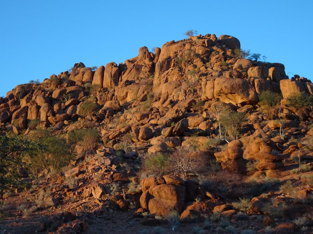 Scenery of Damaraland