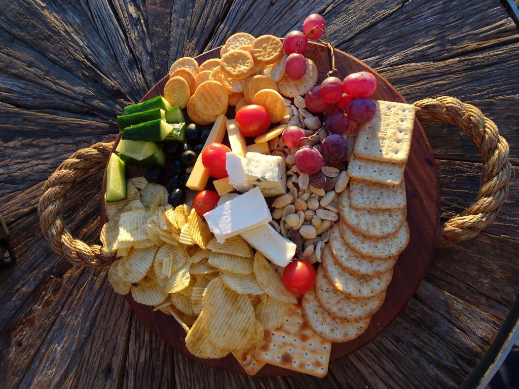 Snack Platter at Spitzkoppen Lodge