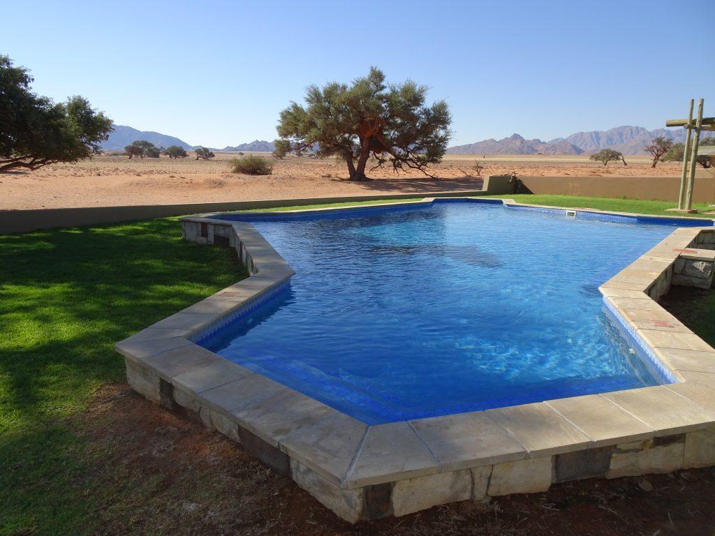 Swimming Pool at Sossusvlei Lodge