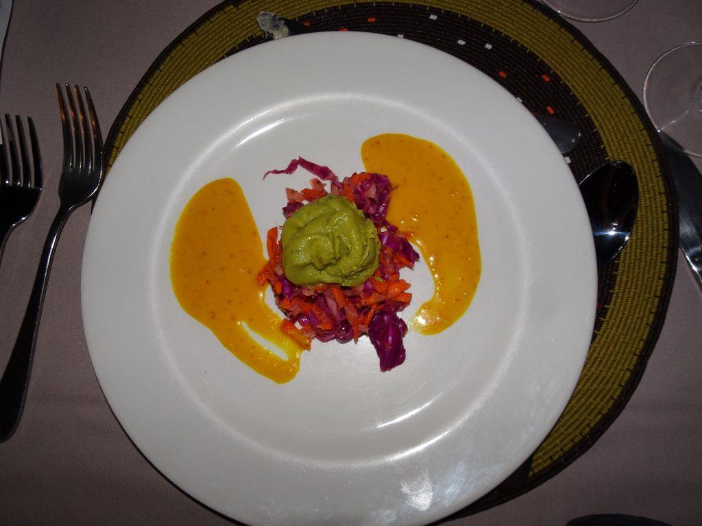 Veg Salad at Mowani Mountain Camp