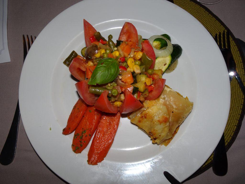 Vegetarian Food in Namibia at Mowani Mountain Camp