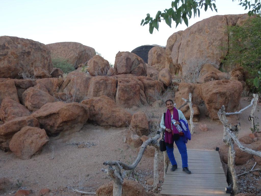Walkway to the Room - Mowani Mountain Camp