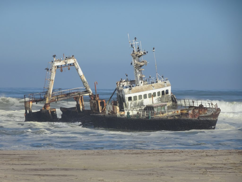 Zeila ship wreck at Henties Bay