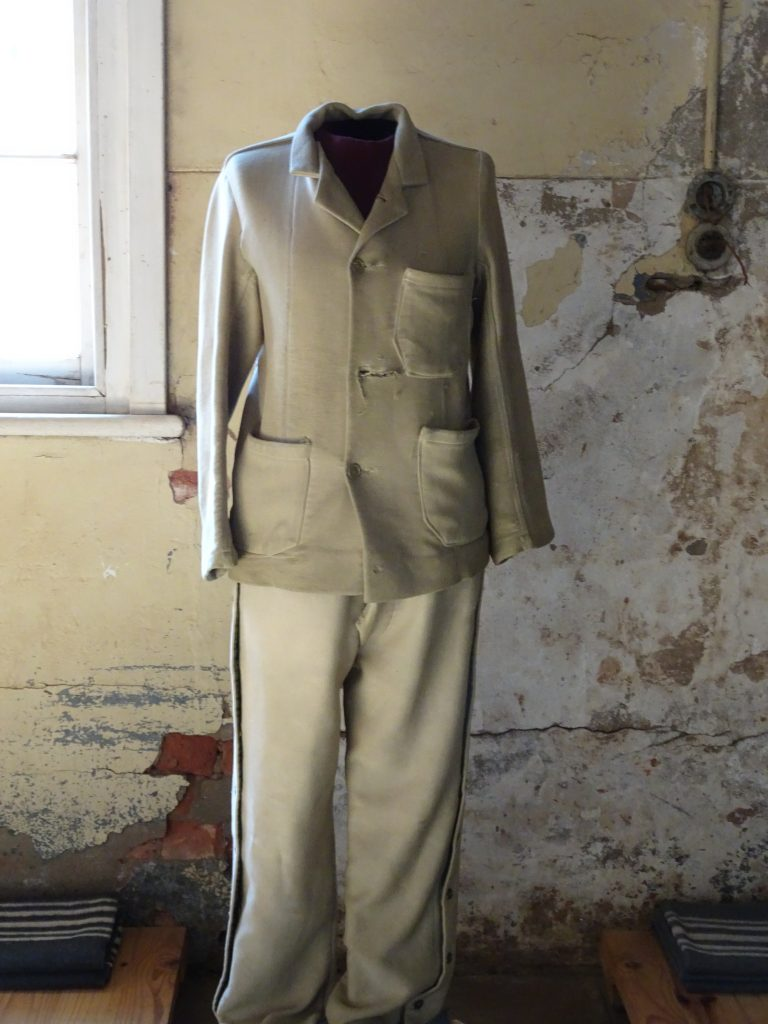 Gandhi's Uniform at Constitution Hill